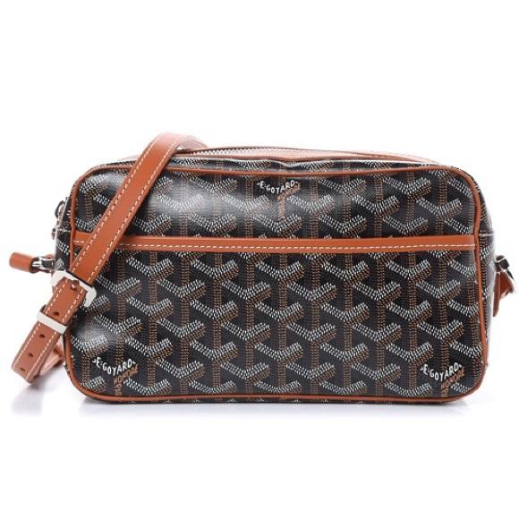 Goyard Sac Cap Vert Crossbody Bag